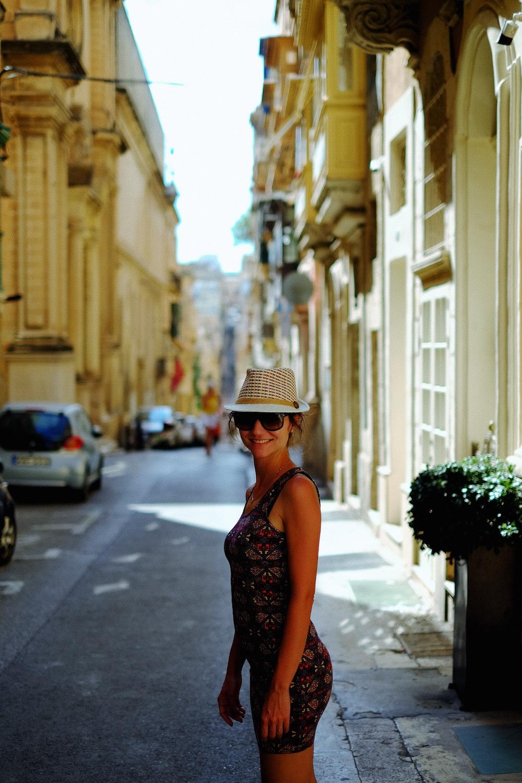 Portraits in Valletta